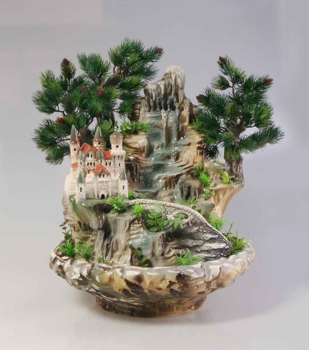 Декоративные фонтаны для квартиры настольные своими руками 22