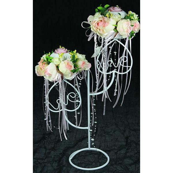 Подставки для цветов на свадьбу своими руками